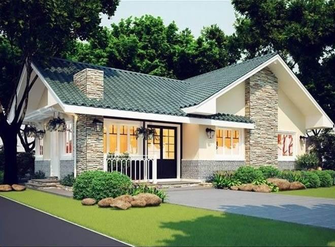 Thiết kế nhà vườn 100m2 đẹp