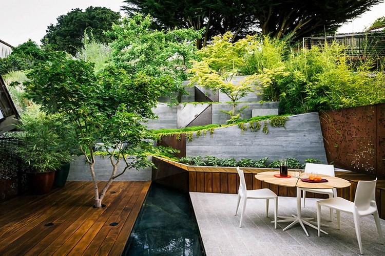 thiết kế biệt thựa sân vườn