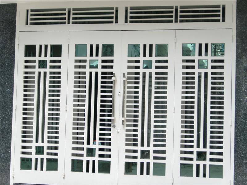Thi công lắp đặt cửa sắt giá rẻ tại Huyện Bình Chánh TpHCM - Xây dựng thiết kế sửa chữa nhà ở chung cư đô thị