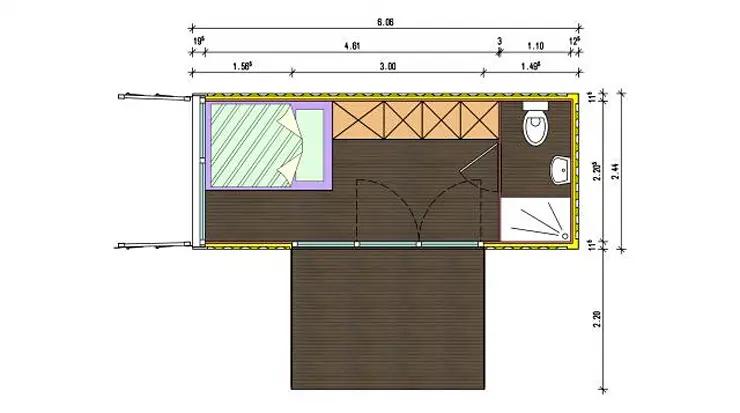thiết kế nhà ở Container đẹp nhất