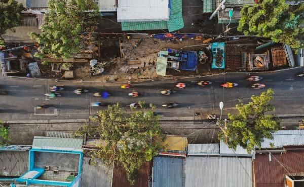 đường phố TP.HCM giáp Tết